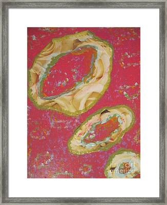 Abstraction #9 Framed Print