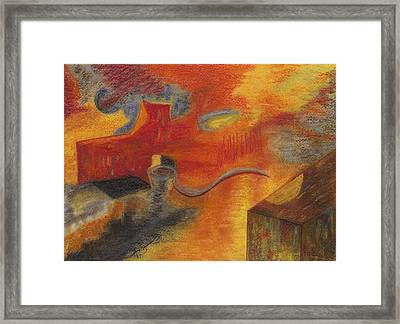 Abstraction Attractions Framed Print