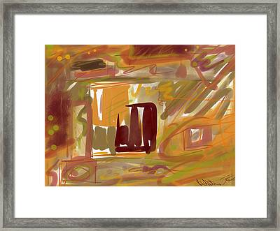 Abstraction Collect 1 Framed Print