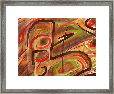 Abstraction Collect 2 Framed Print