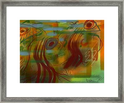 Abstraction Collect 5 Framed Print