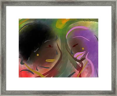 Fro Abstraction 1 Framed Print