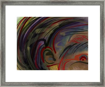 Fro Abstraction 2 Framed Print