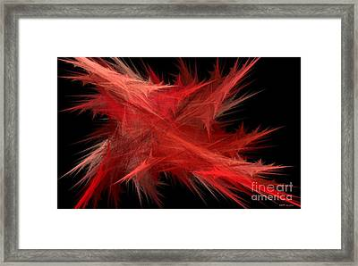 Abstraction Framed Print by Elizabeth McTaggart