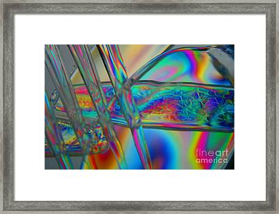 Abstraction In Color 2 Framed Print