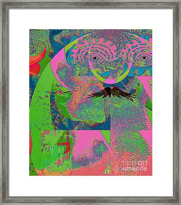 Abstraction Of A New World Framed Print by Fania Simon
