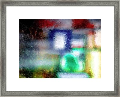 Abstraction  Framed Print by Prakash Ghai