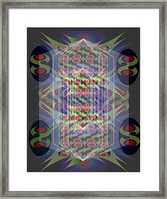 Abstraction Three Framed Print by George Pasini