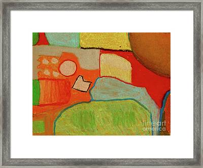 Abstraction123 Framed Print by Paul McKey
