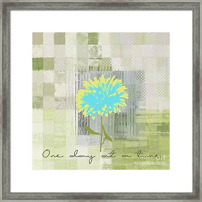 Abstractionnel - 29grfl3c-gr3 Framed Print