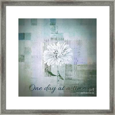Abstractionnel - 334d1 Framed Print by Variance Collections