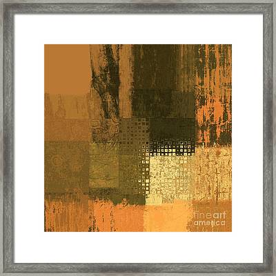 Abstractionnel - Ww43j121129158 Framed Print