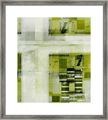 Abstractitude - C4bv2 Framed Print by Variance Collections