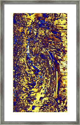 Framed Print featuring the digital art Abstractmosphere 3 by Will Borden