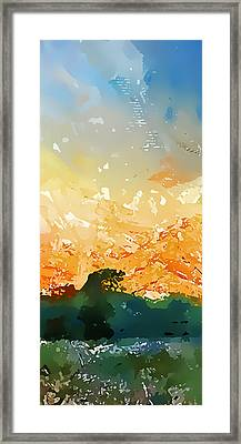 Abstractograpia  IIi Framed Print by Gareth Davies