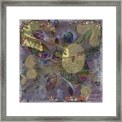 Abstractoplosion Framed Print by Dawn Pearce