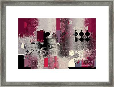 Abstracture - 21pp2a Framed Print by Variance Collections