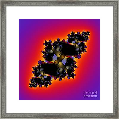 Abstrakt 61 Framed Print by Rolf Bertram