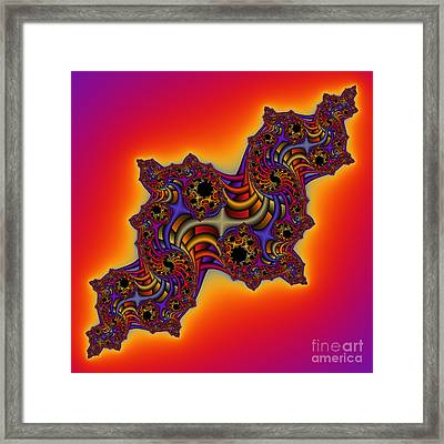 Abstrakt 64 Framed Print by Rolf Bertram