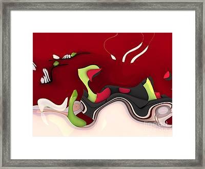 Abstrakto - 55ap Framed Print