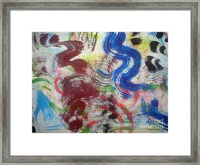 Abstratco Framed Print