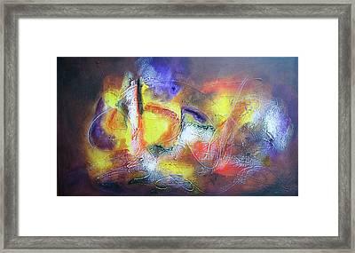 Abstrato Pf Zo Oopp Framed Print by Fernando Antonio