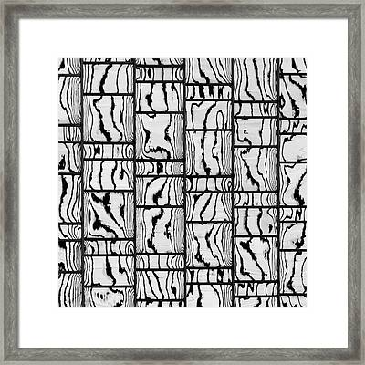 Abstritecture 18 Framed Print