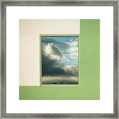 Abstritecture 19 Framed Print