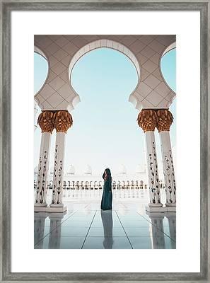 Abu Dhabi Mosque Framed Print