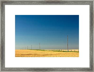 Abundant Plains Framed Print