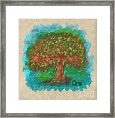 Abundant Tree Framed Print