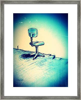 Abyss Financial Framed Print by Paulo Zerbato