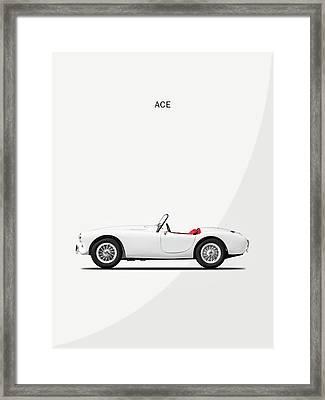 Ac Ace Framed Print
