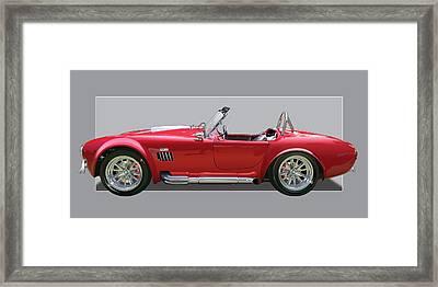 Ac Cobra Framed Print