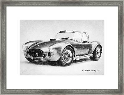 Ac Cobra Shelby 427  Framed Print