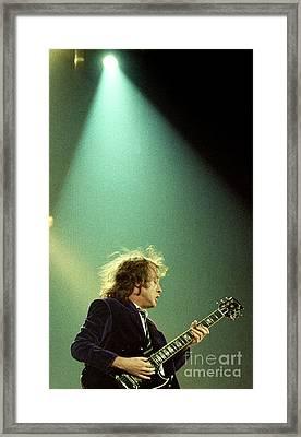 Ac-dc-96-angus-0073 Framed Print