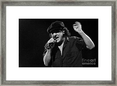 Ac-dc-96-brian-0016 Framed Print