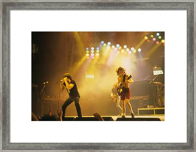 Ac Dc Framed Print