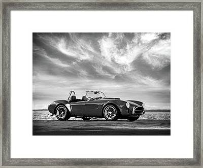 Ac Shelby Cobra Framed Print by Mark Rogan