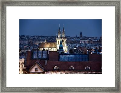 Academy Of Arts, Architecture And Design  Prague Framed Print