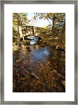 Acadia Bridge Framed Print by Alexander Mendoza