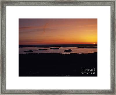 Acadia National Park - Maine Usa Framed Print