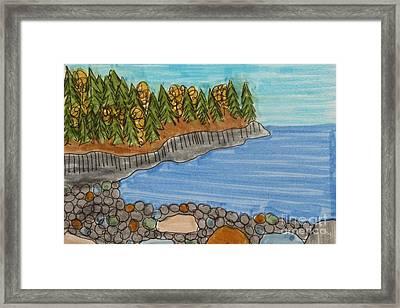 Acadia National Park Framed Print by Jana Kelly