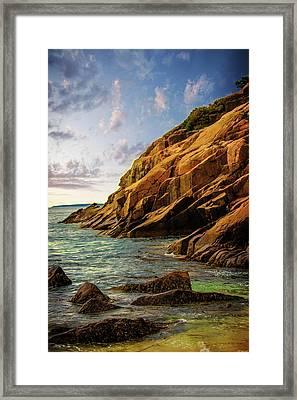 Acadia National Park--maine Framed Print