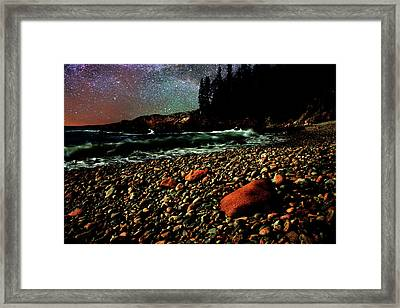 Acadia Nights Framed Print by Brent L Ander