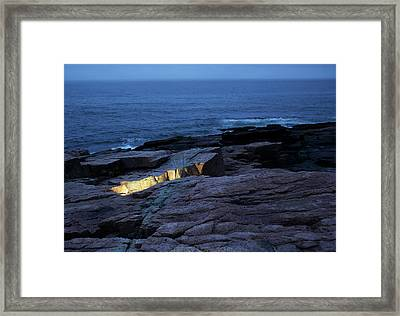 Acadia Nocturnes Framed Print by Jerry LoFaro
