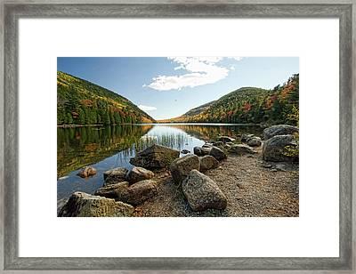 Acadia Scenery Framed Print by Alexander Mendoza
