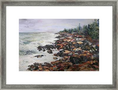 Acadian Afternoon Framed Print by Alicia Drakiotes