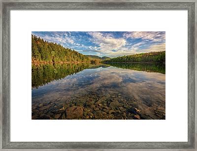 Acadian Reflection Framed Print by Rick Berk