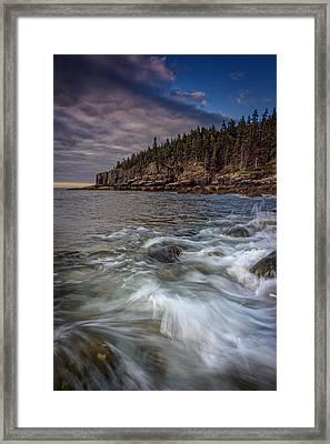 Acadian Tide Framed Print